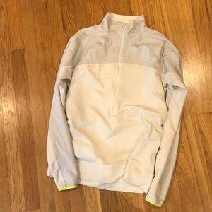 Nike 3/4 zip pullover running jacket